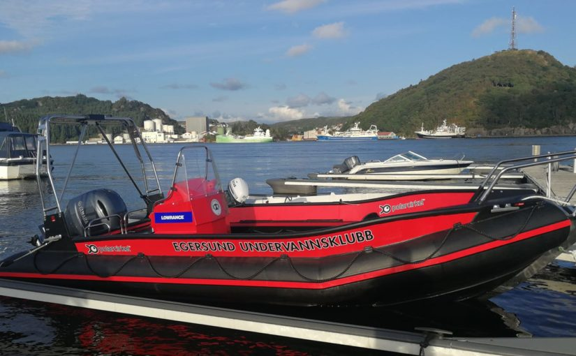Vi har fått ny båt!